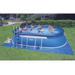 Бассейн Intex 54432 Oval Frame Pool